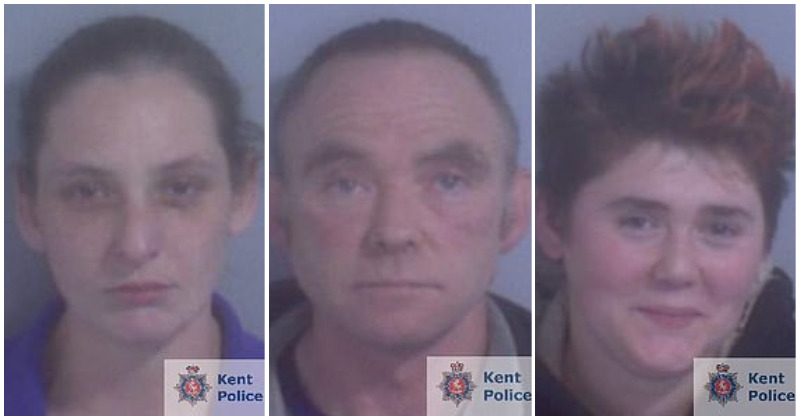 All three suspects have been convicted and jailed for life (Source: Kent Police)