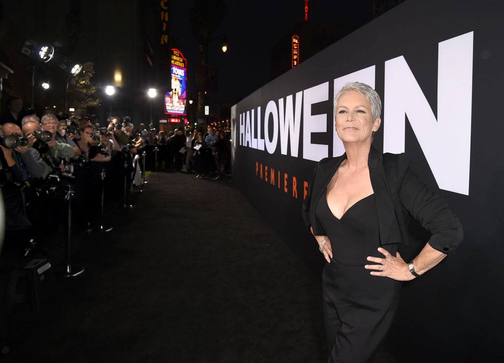 Jamie Lee Curtis arrives at the premiere of Halloween at the TCL Chinese Theatre on October 17 Los Angeles, California. (Getty Images)