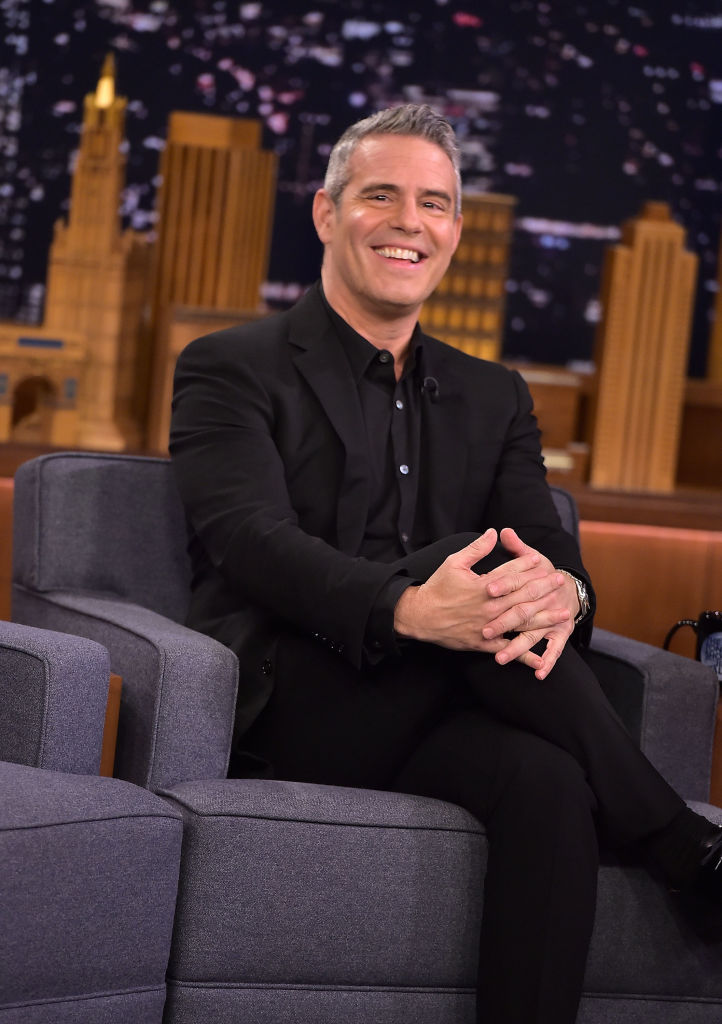 Andy Cohen visits 'The Tonight Show Starring Jimmy Fallon' on December 5, 2018, in New York City. (Photo by Theo Wargo/Getty Images)