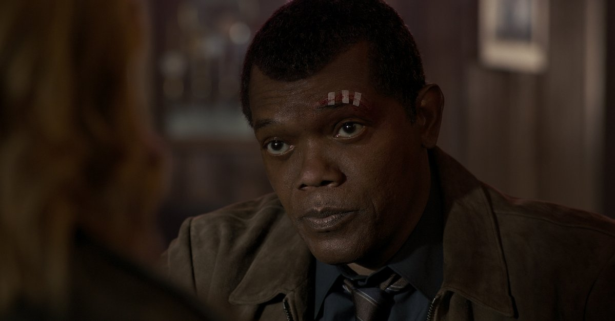 De-aging technology was used on Samuel L Jackson to show a young Nick Fury from the '90s. (Twitter)