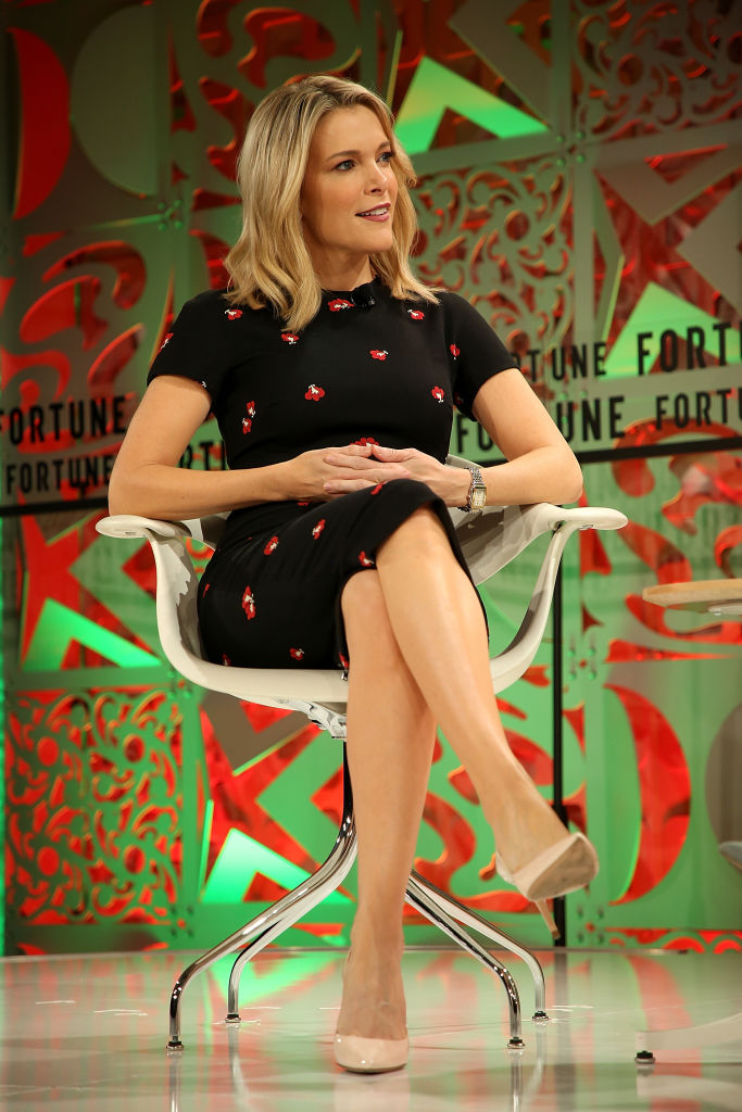 Megyn Kelly speaks onstage at the Fortune Most Powerful Women Summit 2018 at Ritz Carlton Hotel on October 2 (Source: Phillip Faraone/Getty Images for Fortune)
