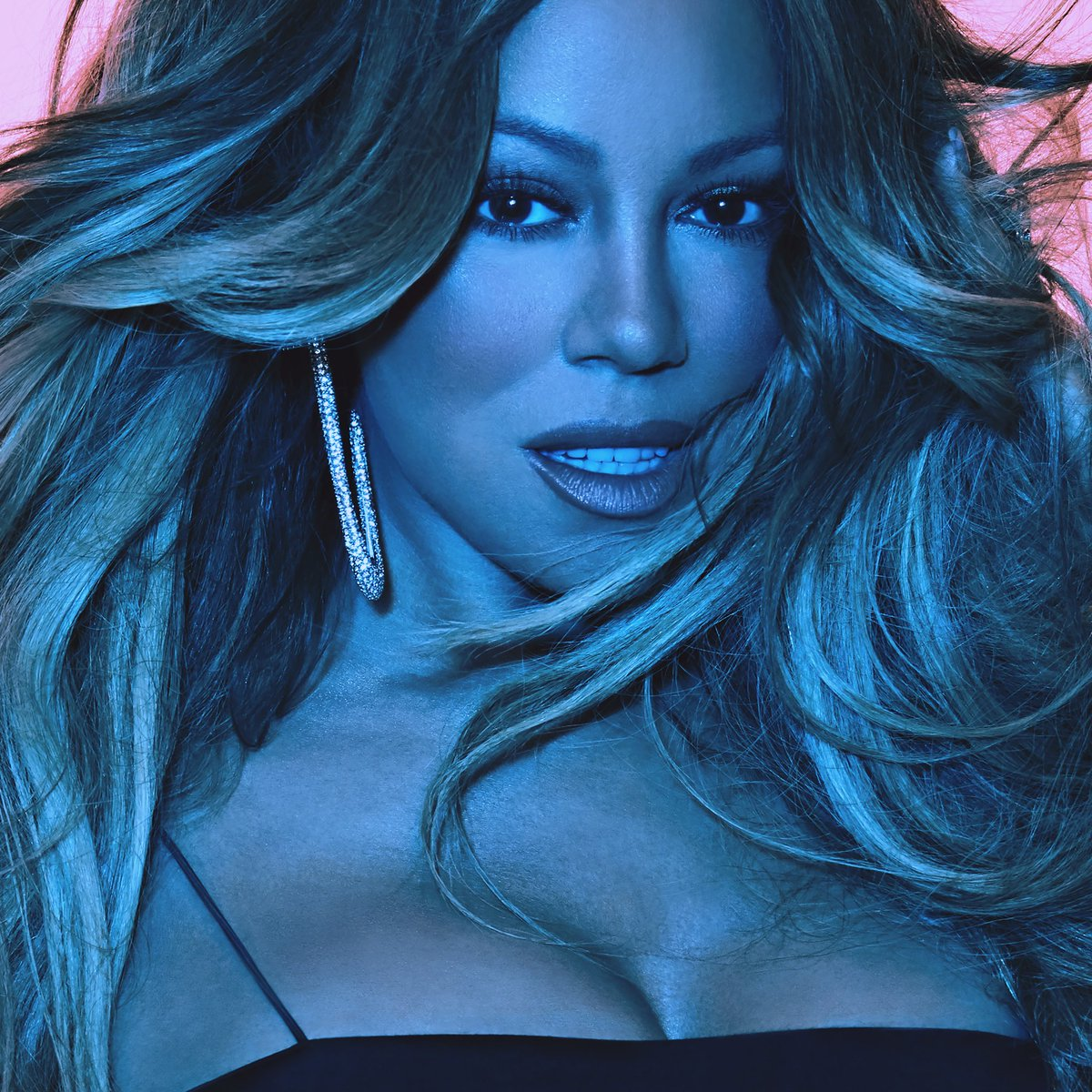 Album art for Mariah Carey's 'Caution'.