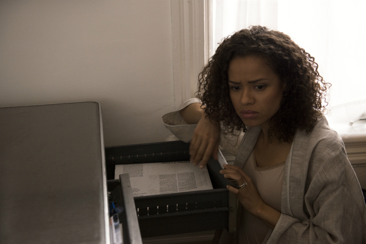 An exclusive photograph of Gugu Mbatha-Raw from 'The Endings: Photographic Stories of Love, Loss, Heartbreak, and Beginning Again'