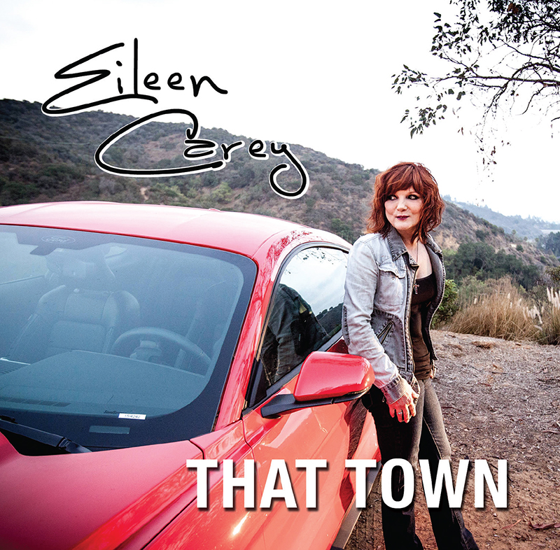 The album art for Eileen Carey's latest single 'That Town'