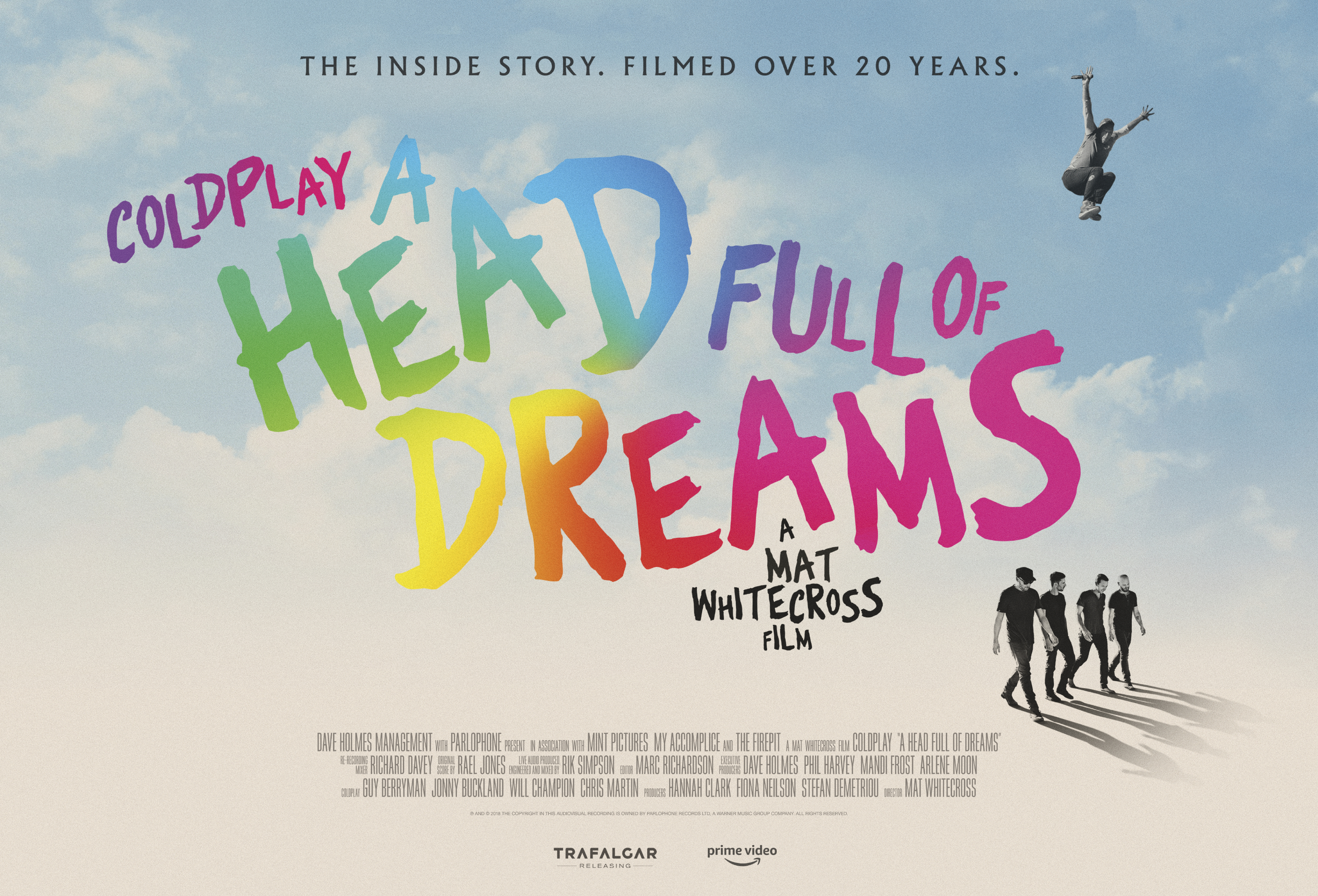 Official theatrical poster for Coldplay's 'A Head Full Of Dreams'