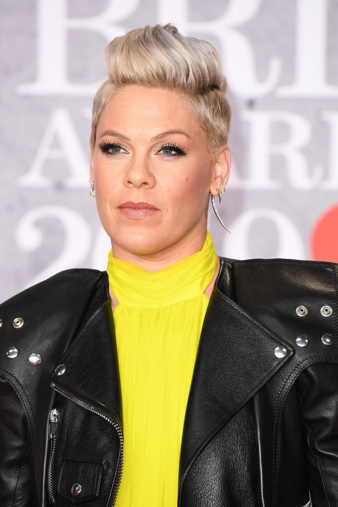 Pink was fuming at the nature of comments made about her son Jameson (Source: Getty Images)