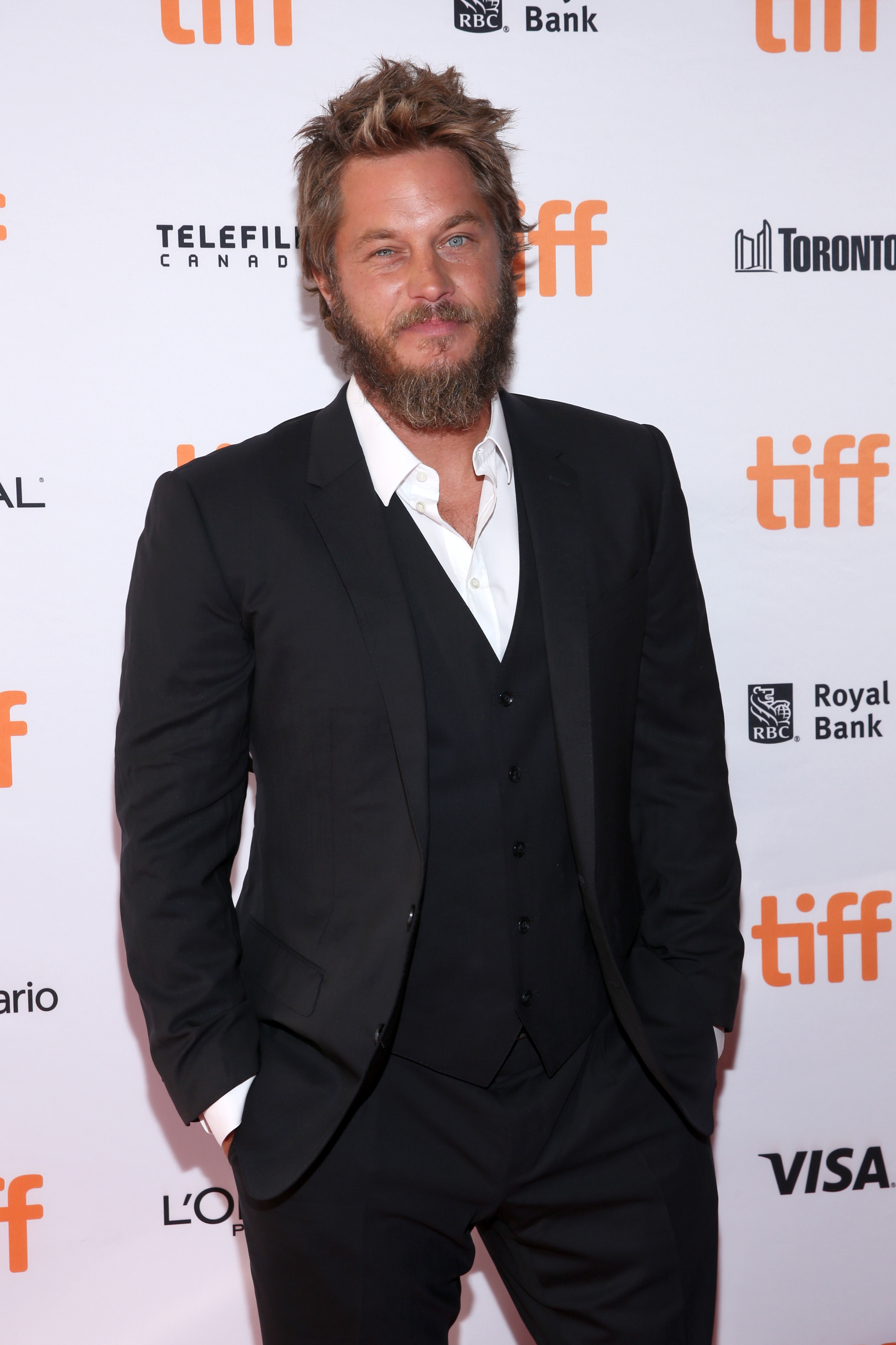 Travis Fimmel attends the 'Lean On Pete' premiere during the 2017 Toronto International Film Festival at The Elgin on September 11, 2017 in Toronto, Canada. (Source: Getty Images)