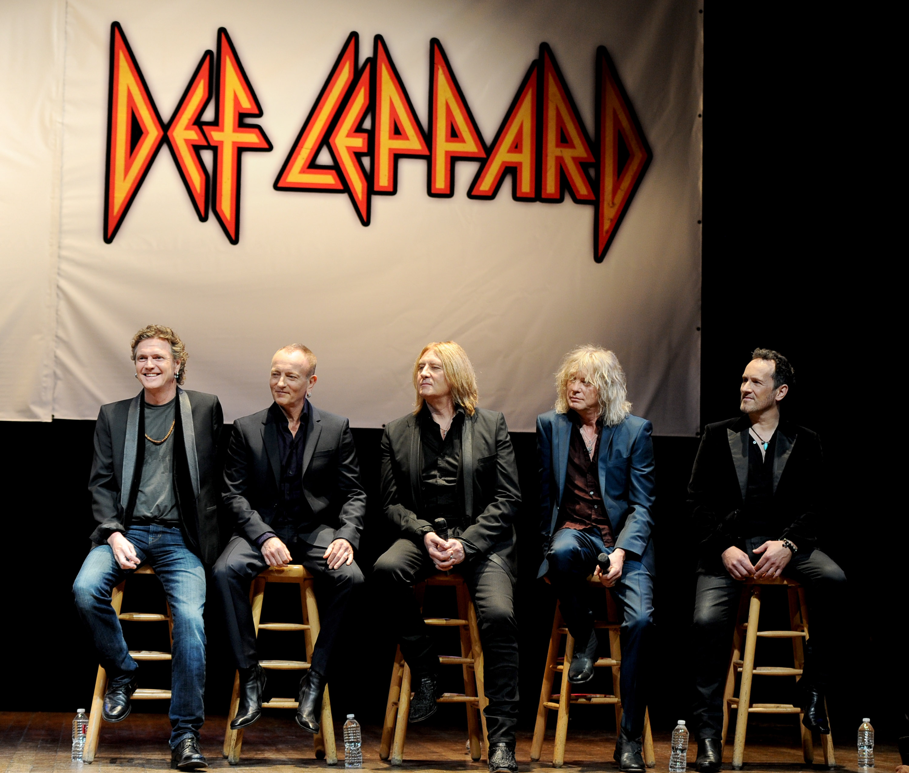 Def Leppard has been announced as inductees into the 2019 Rock and Roll Hall of Fame. (Getty Images)