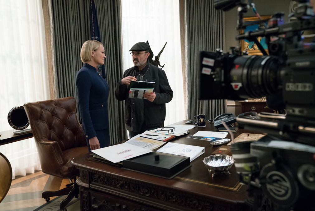 Robin Wright has directed the last episode of season 6 (Source: David Giesbrecht/Netflix)