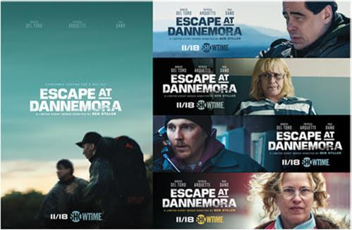 Escape at Dannemora official poster released by Showtime