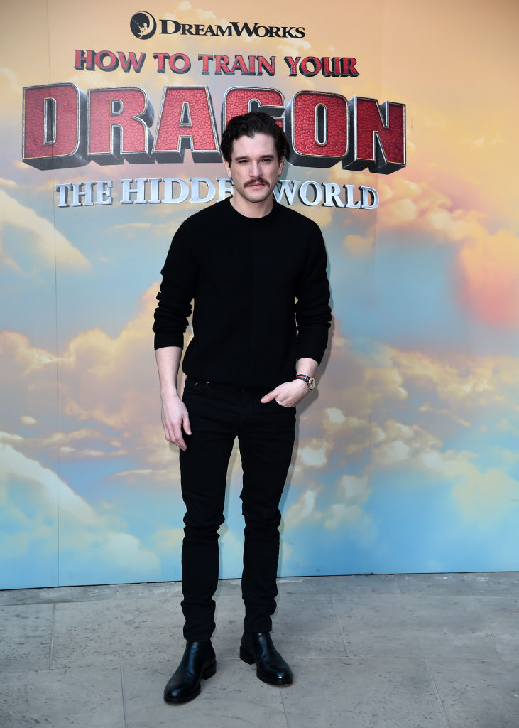 Kit Harington attends photo all at How To Train Your Dragon: The Hidden World Immersive Experience Photocall on January 22, 2019 in London, England. (Photo by Eamonn M. McCormack/Getty Images for Universal Pictures )