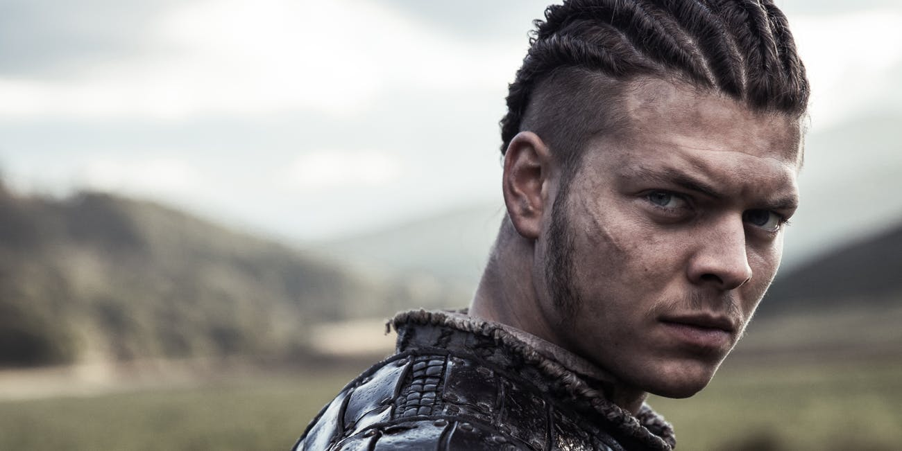 Ivar the Boneless played by Alex Høgh Andersen (History Channel)