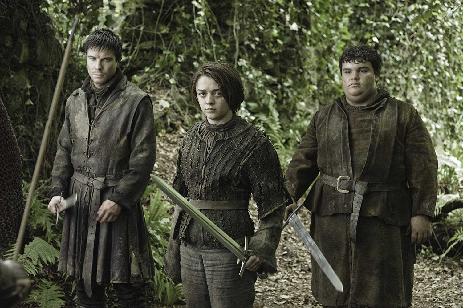 Gendry, Arya Stark and Hot Pie in 'Game of Thrones'. Source: IMDB