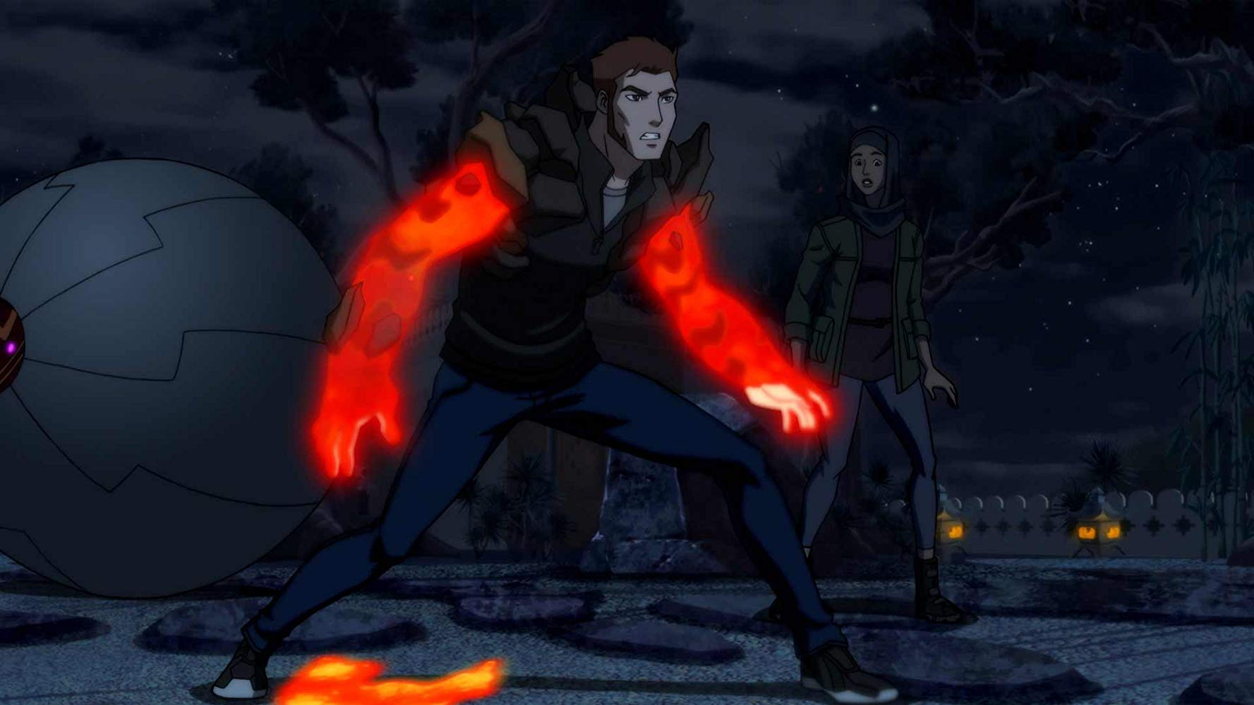 The Supercycle, Prince Brion and Geo-Force in 'Young Justice: Outsiders' Source: IMDB