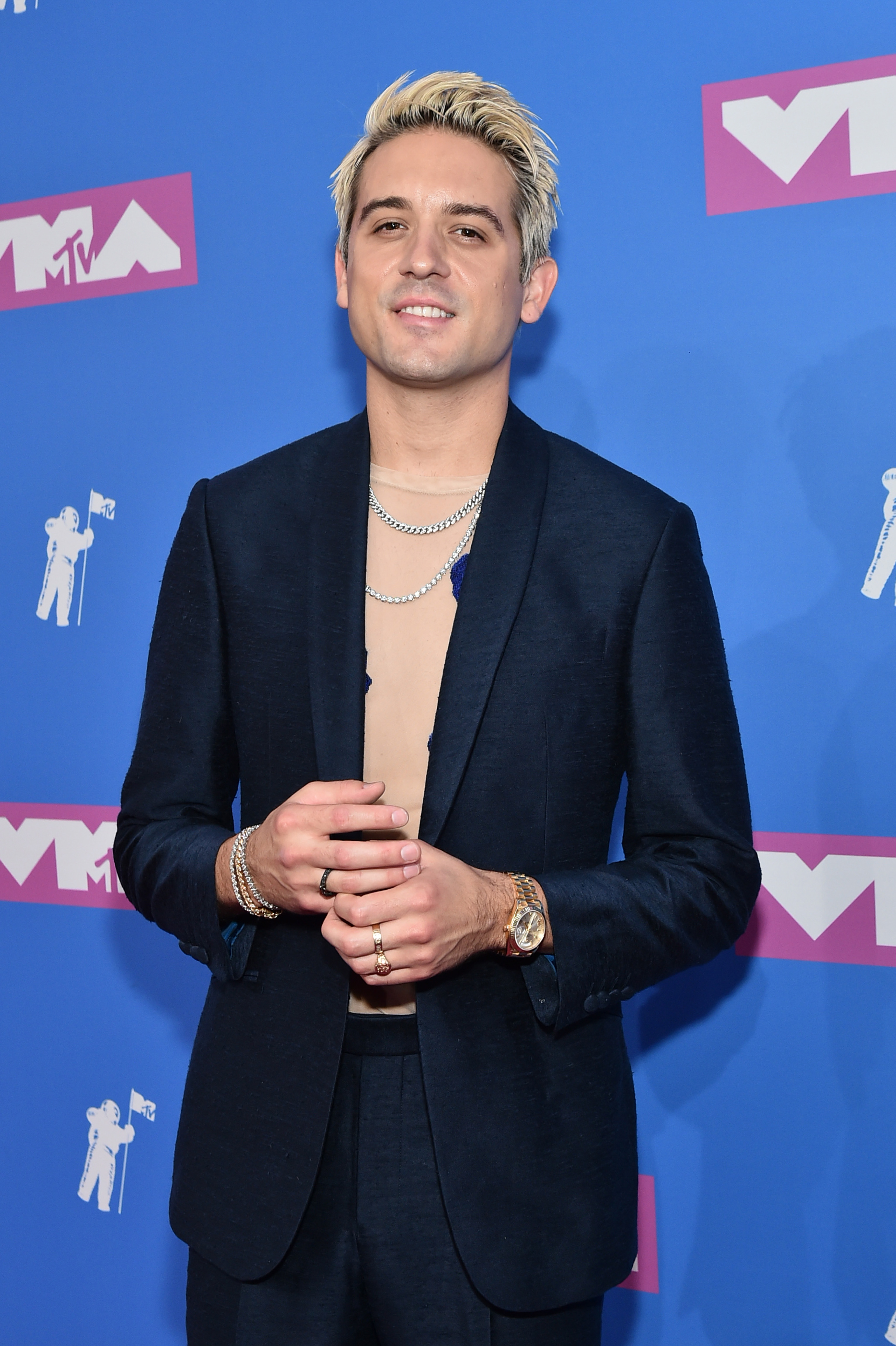 G-Eazy attends the 2018 MTV Video Music Awards at Radio City Music Hall on August 20, 2018 in New York City. (Photo by Mike Coppola/Getty Images for MTV)