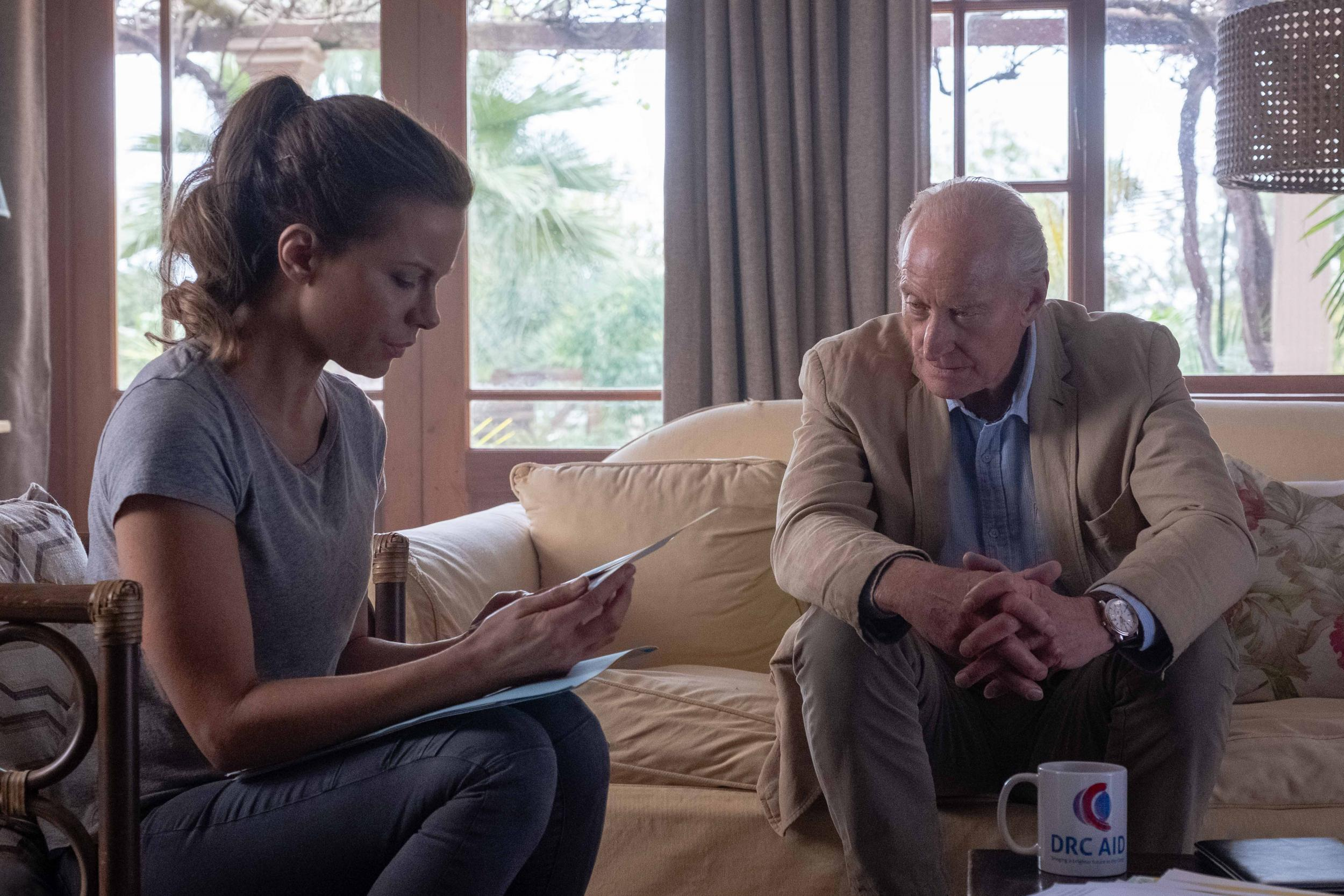 Kate Beckinsale and Charles Dance in the still of 'The Widow'