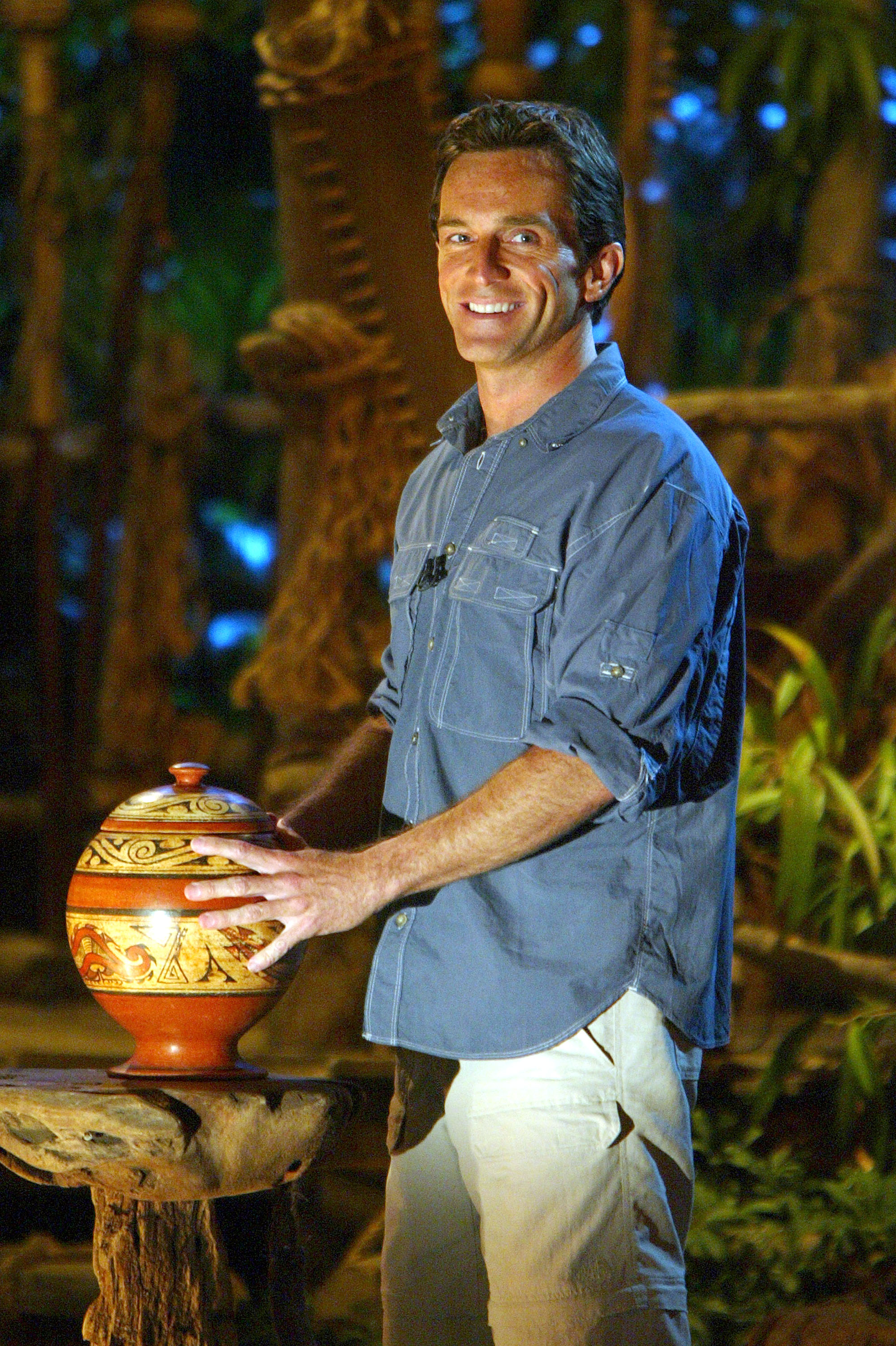 Jeff Probst waited for one and a half years before landing his 'Survivor' job (Photo by Scott Gries/Getty Images)