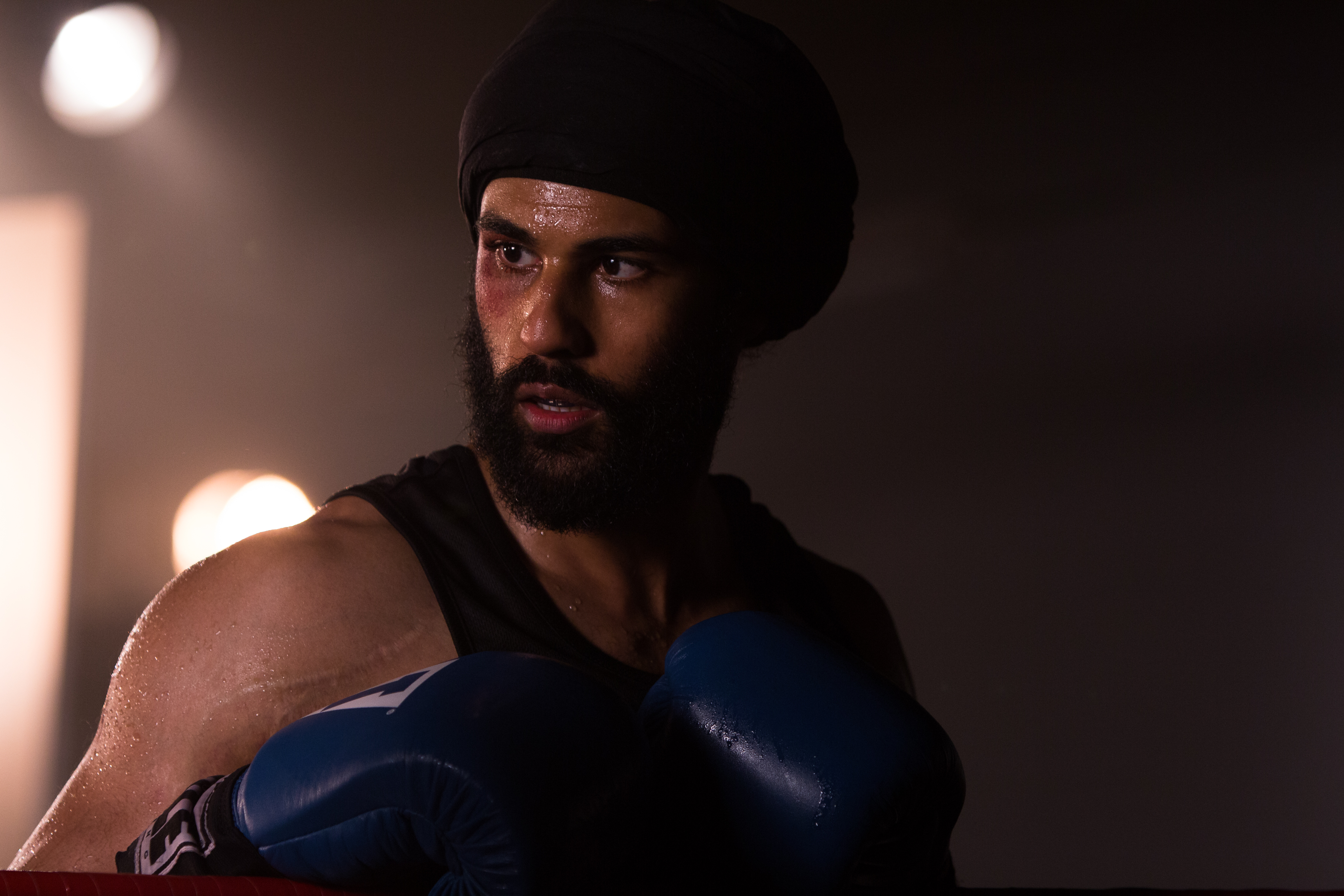 Prem Singh as Pardeep Nagra in 'Tiger'