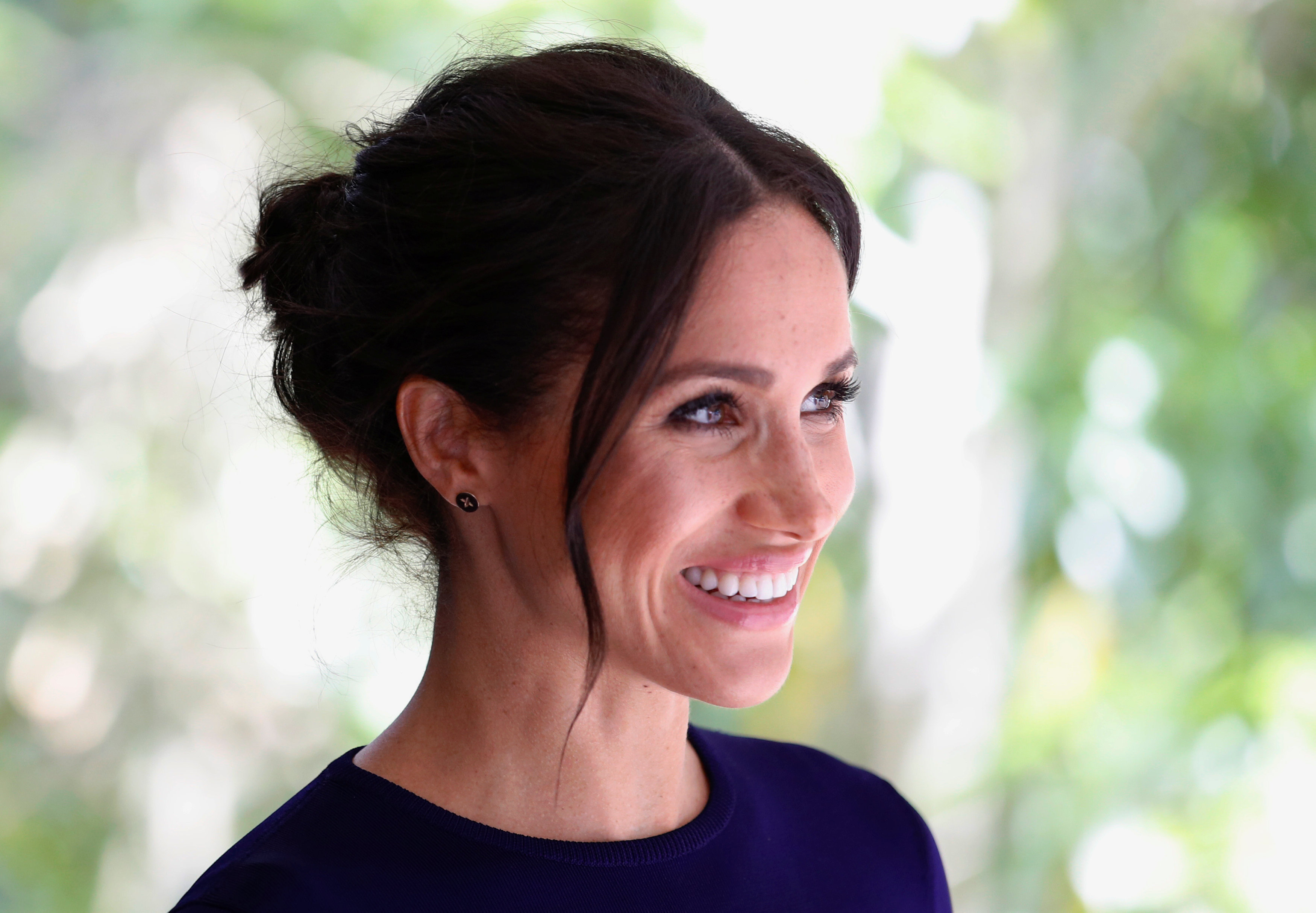 Meghan, Duchess of Sussex visit the National Kiwi Hatchery at Rainbow Springs on October 31, 2018 in Rotorua, New Zealand. (Photo by Phil Noble - Pool/Getty Images)