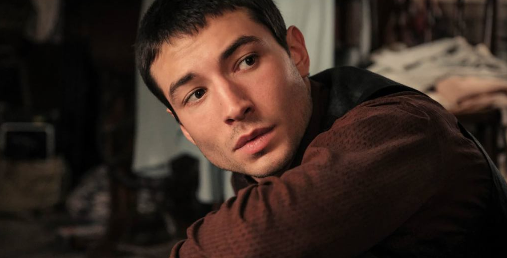 Ezra Miller as Credence Barebone in Fantastic Beasts 2. (Source: Twitter)