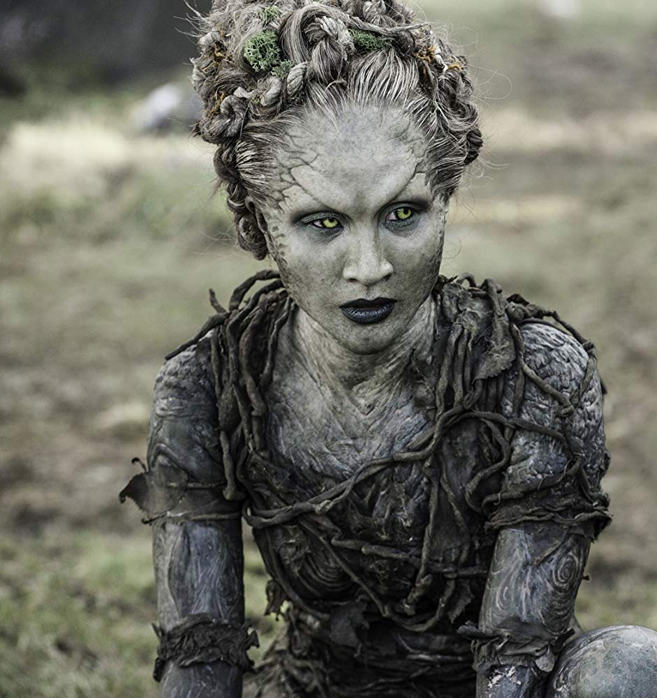Kae Alexander as Leaf in Game of Thrones. Source: IMDB