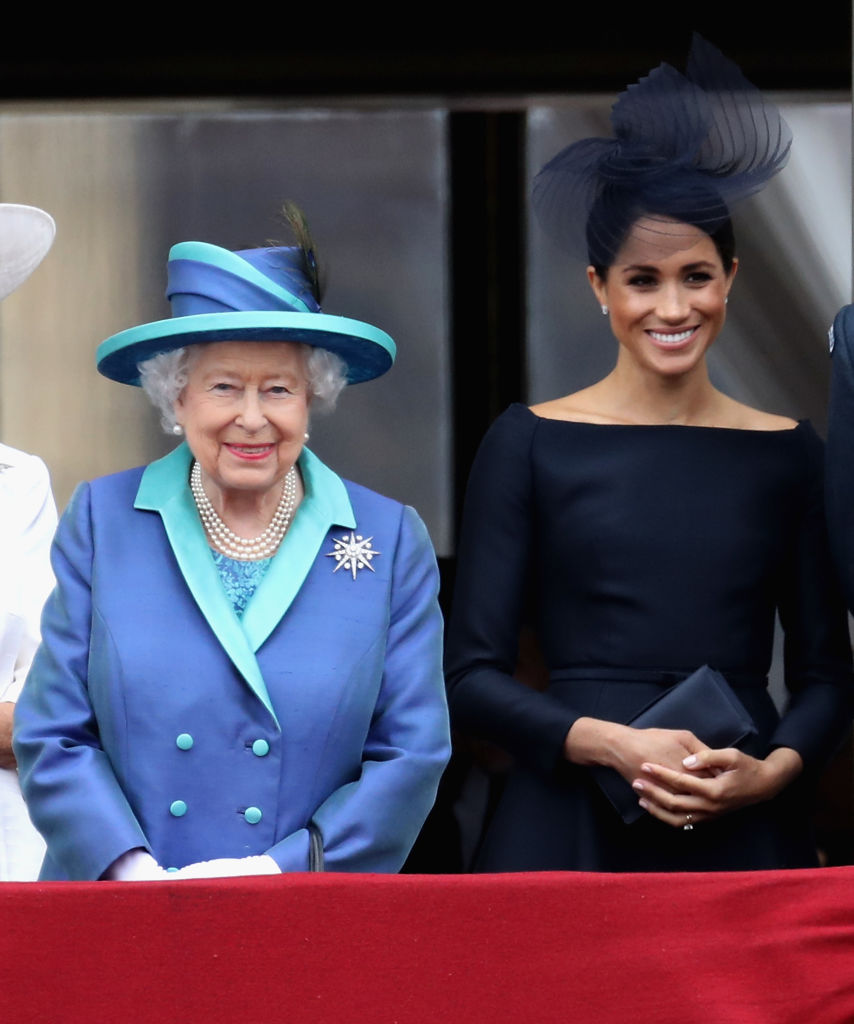The Queen and Meghan Markle (Source: Getty Images)