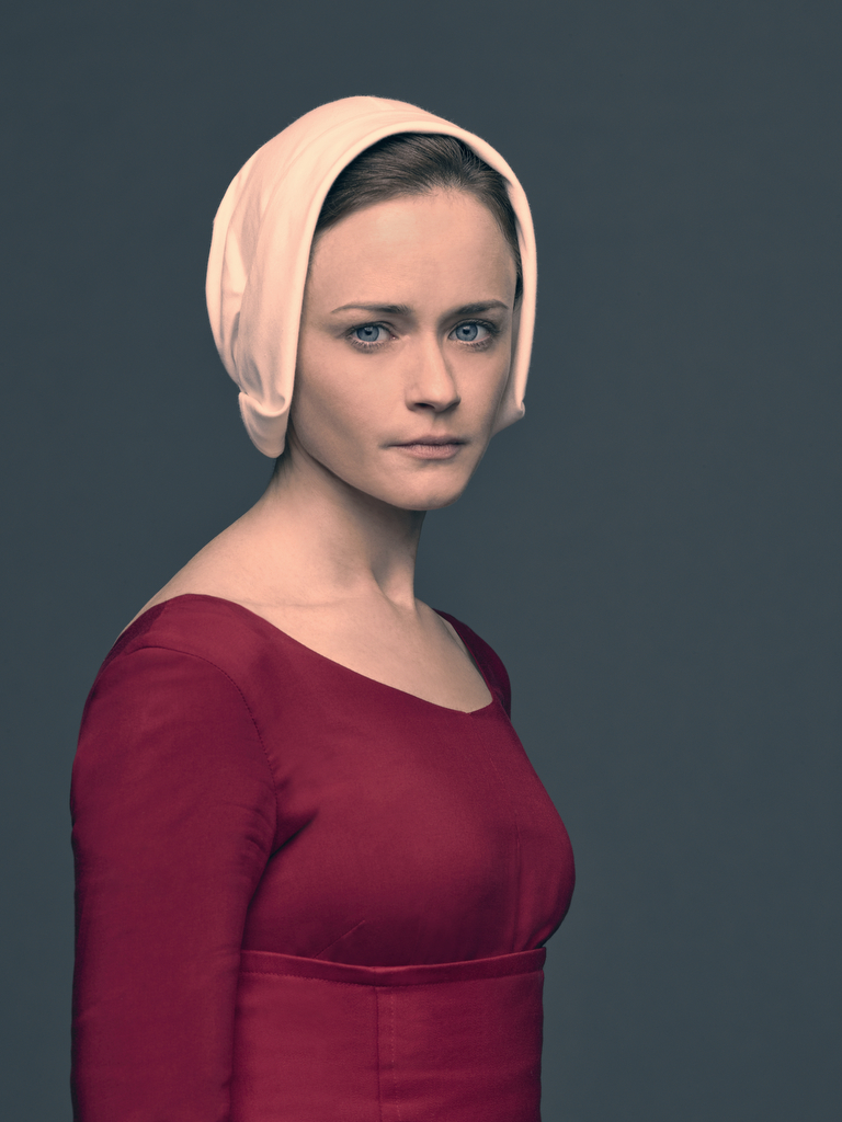 Alexis Bledel plays the role of Emily aka Ofglen in 'The Handmaid's Tale'. (Source: Hulu)
