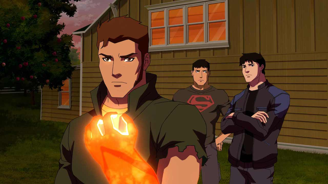 Prince Brion, Superboy, and Nightwing in 'Young Justice: Outsiders' Source: IMDB