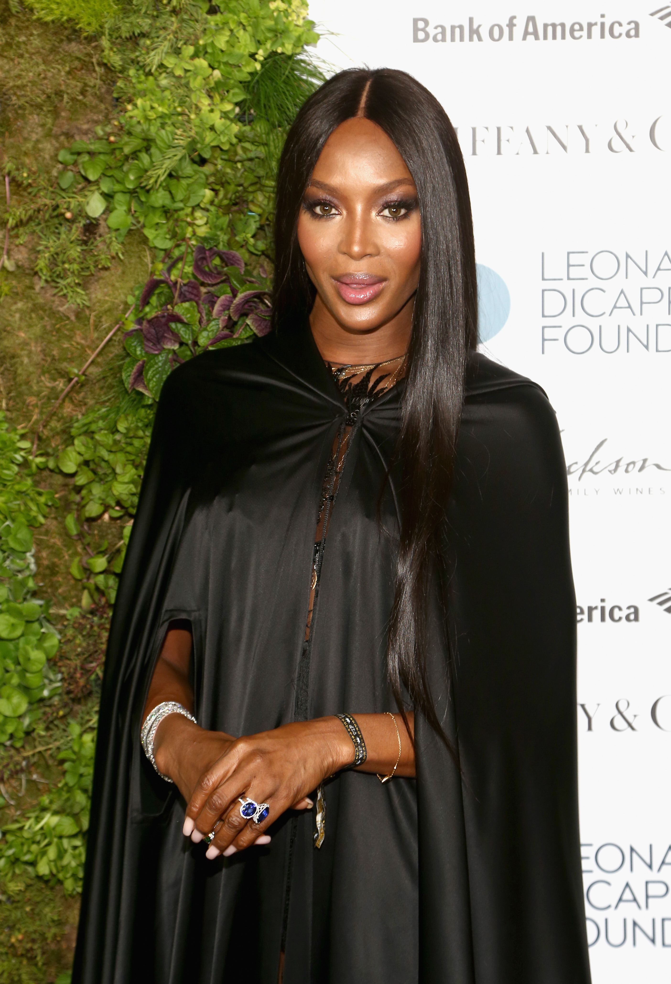 Naomi Campbell arrives at the Leonardo DiCaprio Foundation Gala at Jackson Park Ranch on September 15, 2018 in Santa Rosa, California. (Getty)