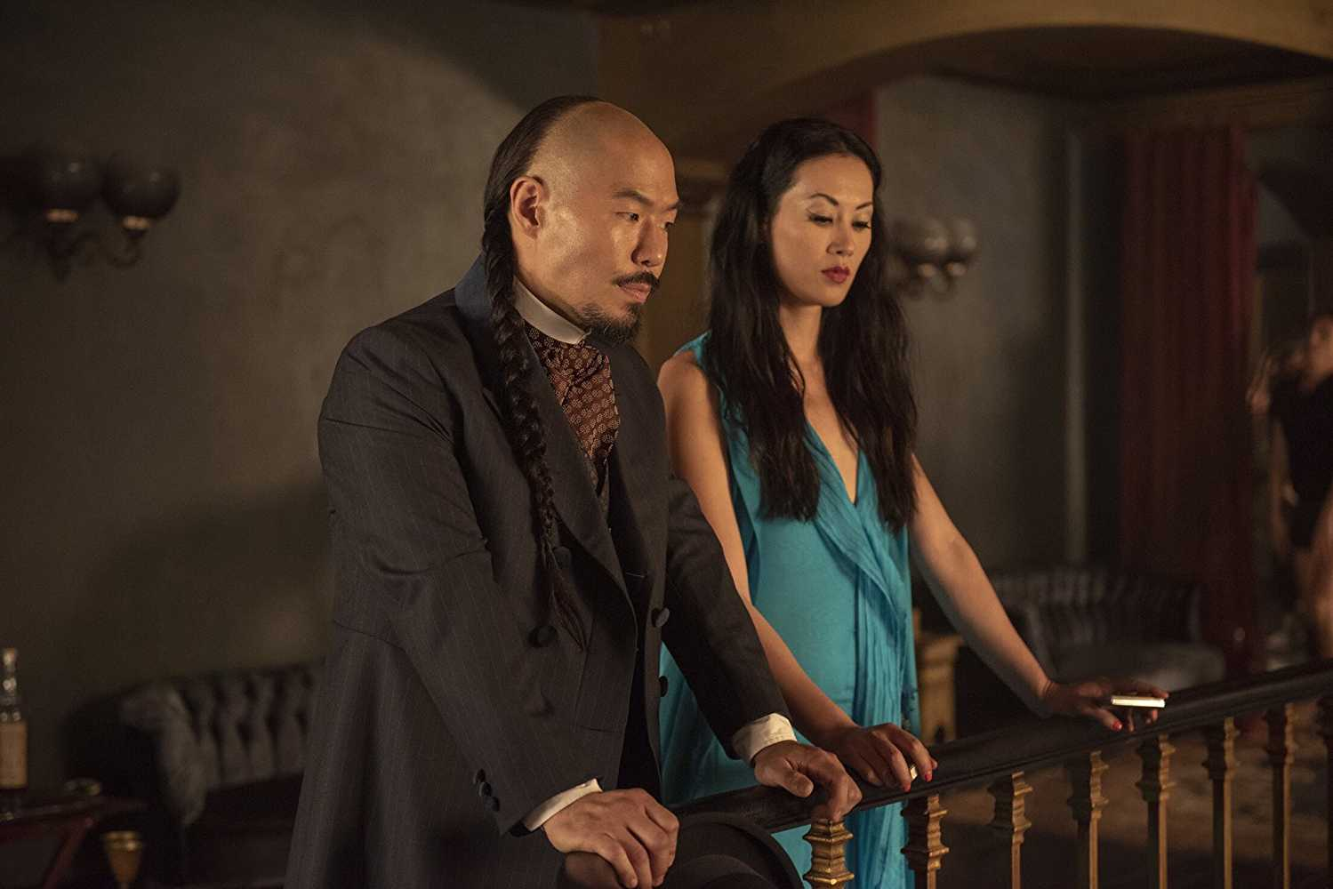 Olivia Cheng as the brothel madam, Ah Toy. (IMDb)