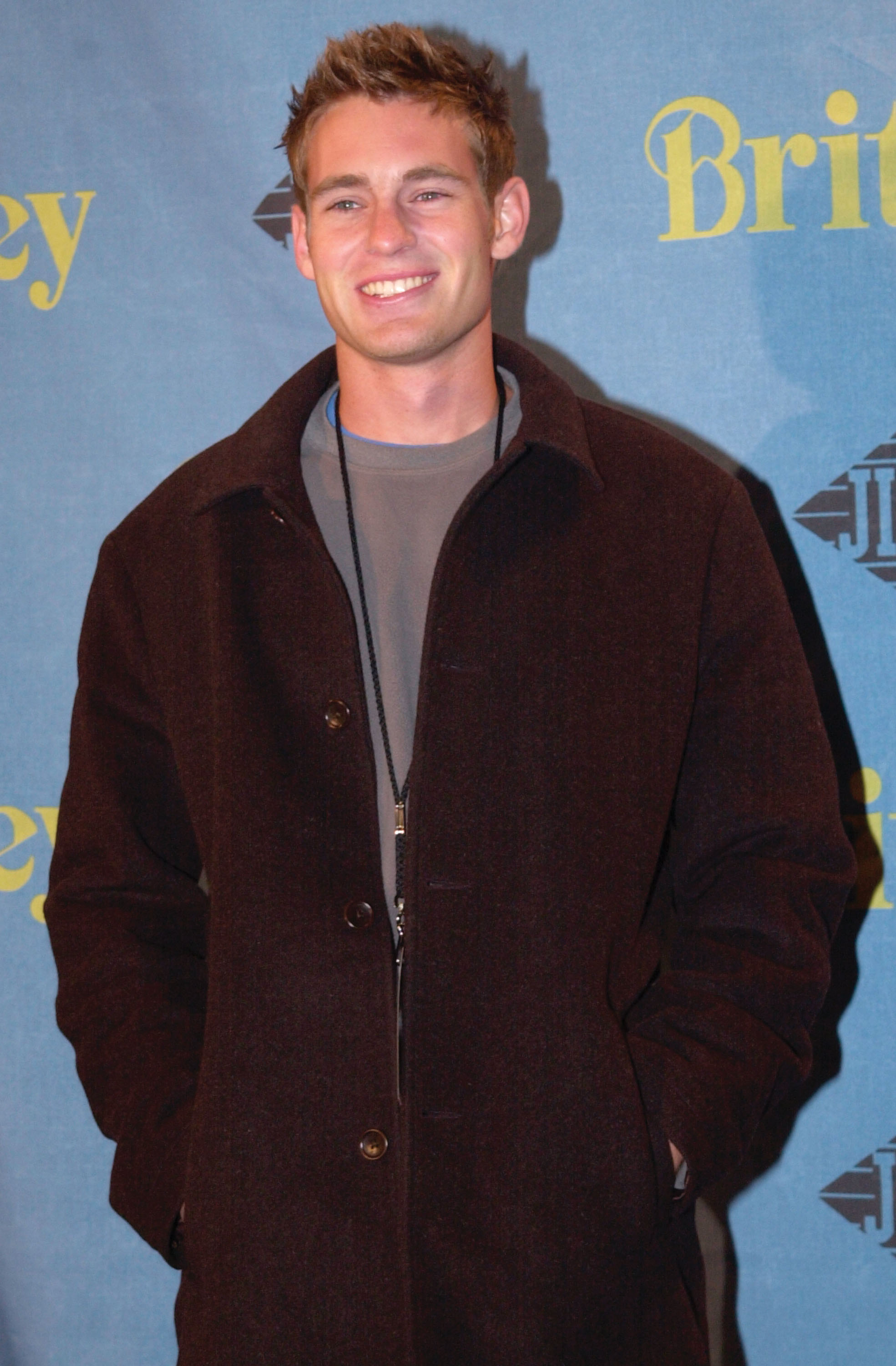 MTV Real World star Danny Roberts attends the release party for Britney Spears'' new album 'Britney' November 6, 2001 in New York. (Photo by Lawrence Lucier/Getty Images)