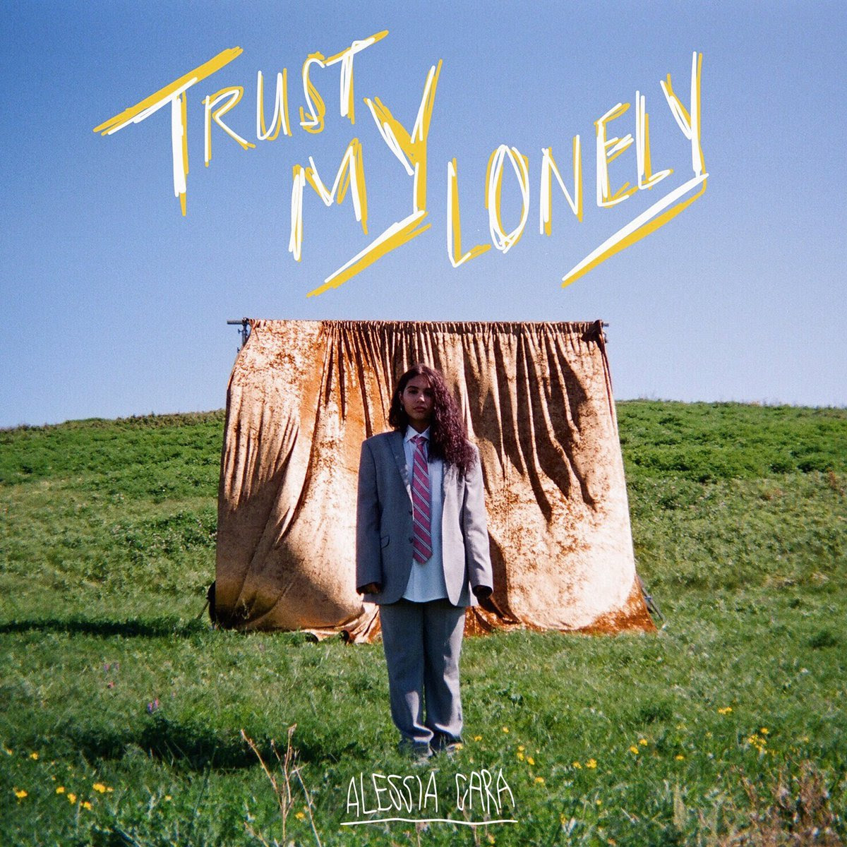 Cover art for Alessia Cara's latest single, 'Trust My Lonely' (Photo Credit: Def Jam Records)