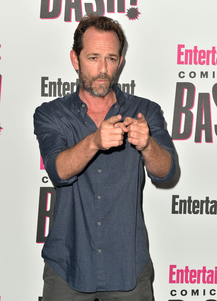 Luke Perry attends Entertainment Weekly's Comic-Con Bash held at FLOAT, Hard Rock Hotel San Diego on July 21, 2018 in San Diego, California sponsored by HBO (Photo by Jerod Harris/Getty Images)