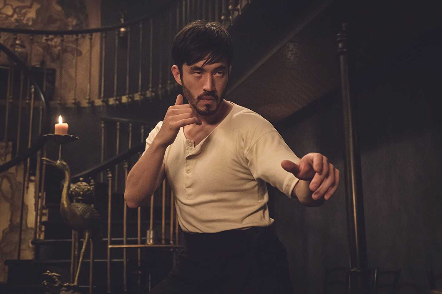 Ah Sahm, played by Andrew Koji, is a newly arrived Chinese immigrant with some serious fighting skills, who finds himself thrust in the midst of the Tong Wars(IMDb)