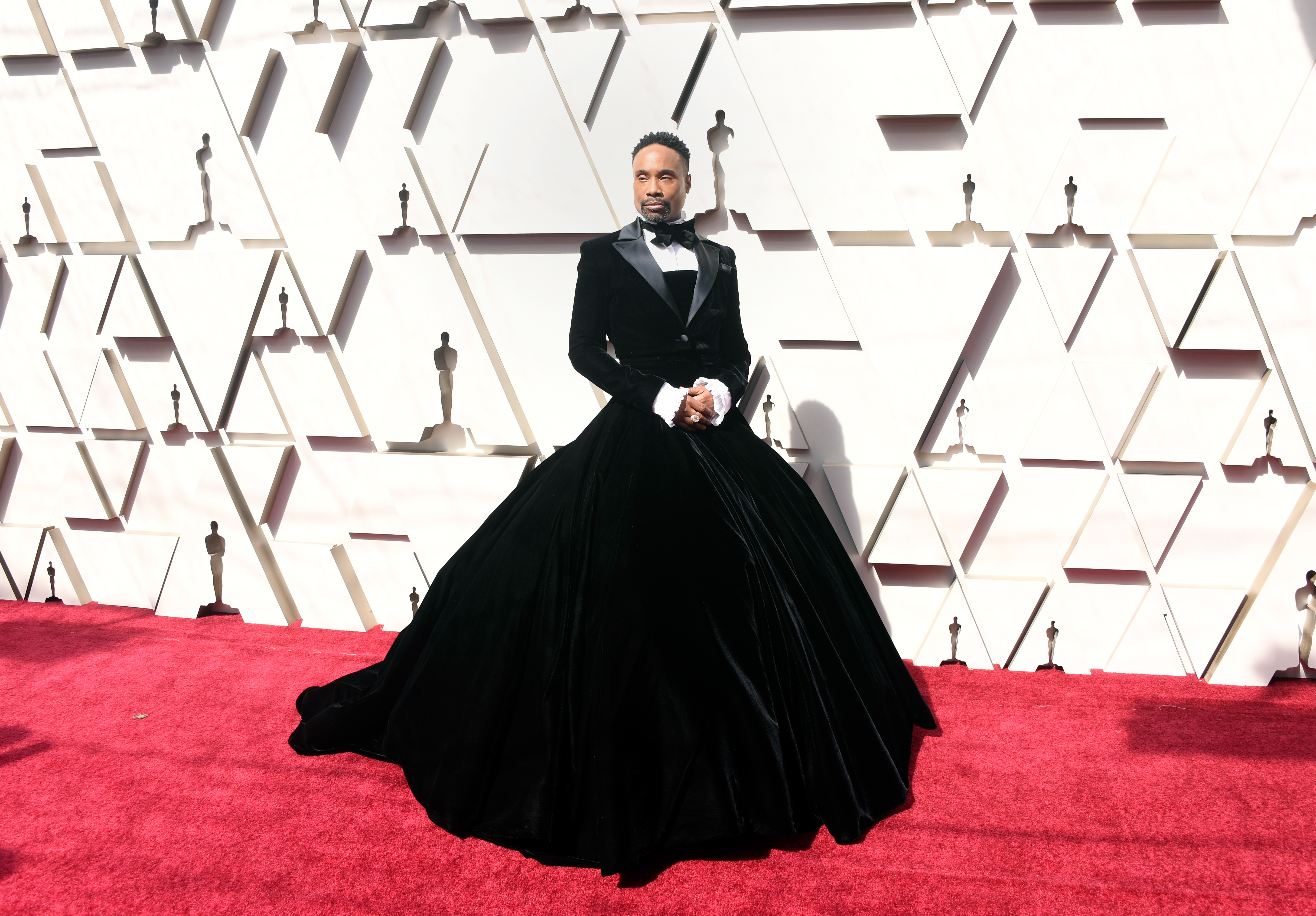 Billy Porter attends the 91st Annual Academy Awards at Hollywood and Highland on February 24, 2019 in Hollywood, California. (Getty Images)