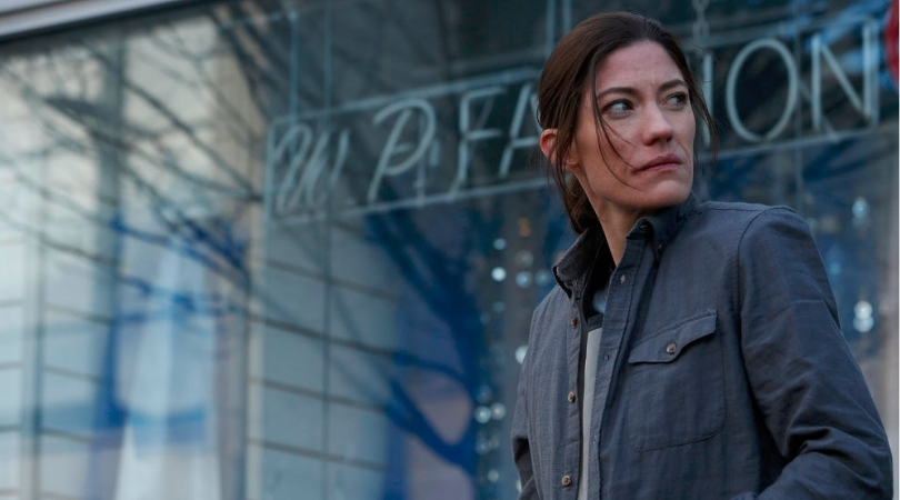 Jennifer Carpenter as Erica Sheperd in 'The Enemy Within'. (Source: NBC)