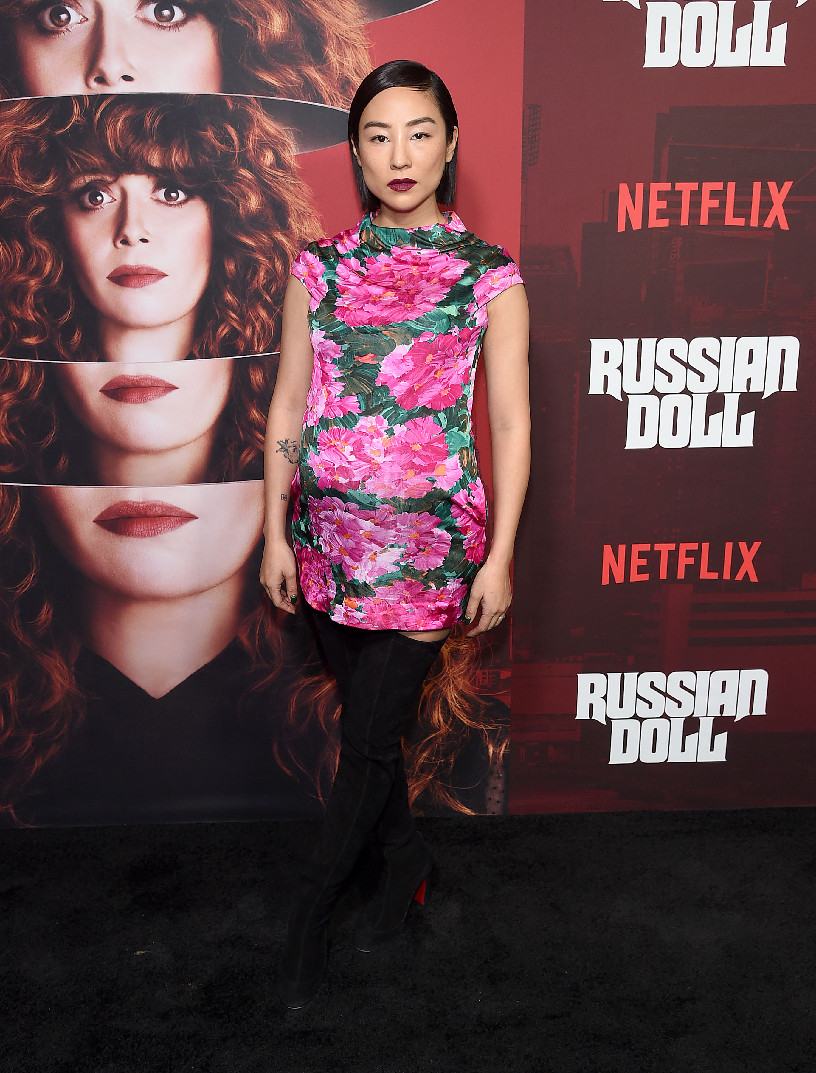 Greta Lee attends Netflix's 'Russian Doll' Season 1 Premiere at Metrograph on January 23, 2019 in New York City. (Photo by Jamie McCarthy/Getty Images)