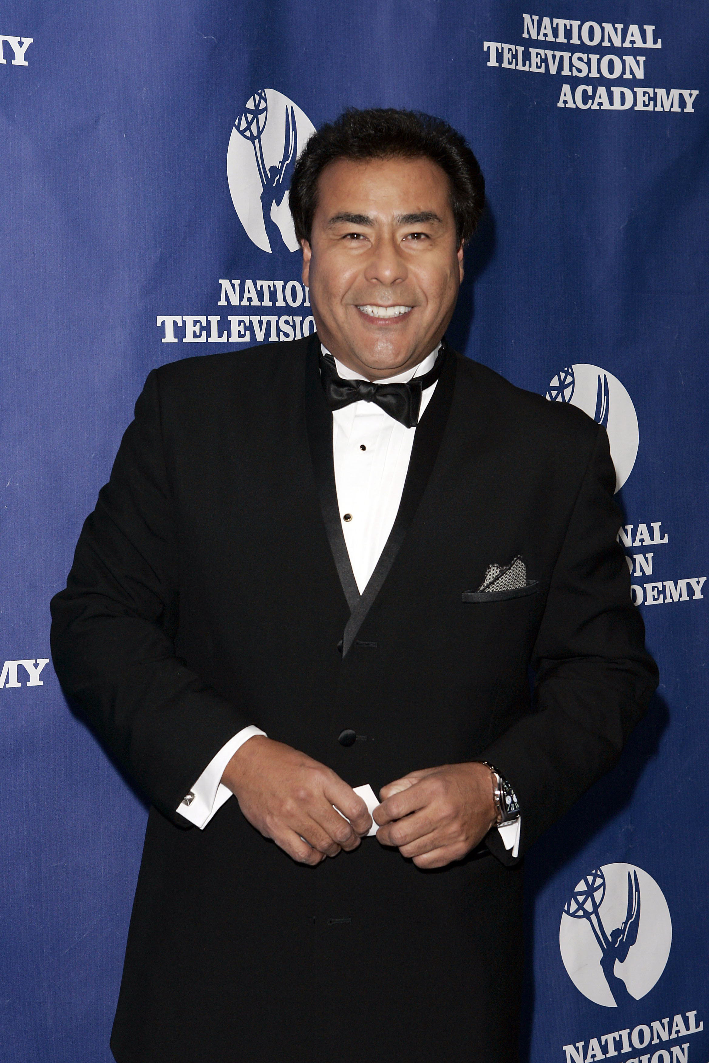 TV personality John Quinones arrives at the National Television Academy Honors on October 20, 2005, in New York City (Getty Images)