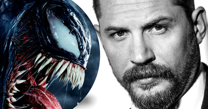 Tom Hardy-starring 'Venom' arrives in theaters on October 5 (Getty/Sony)