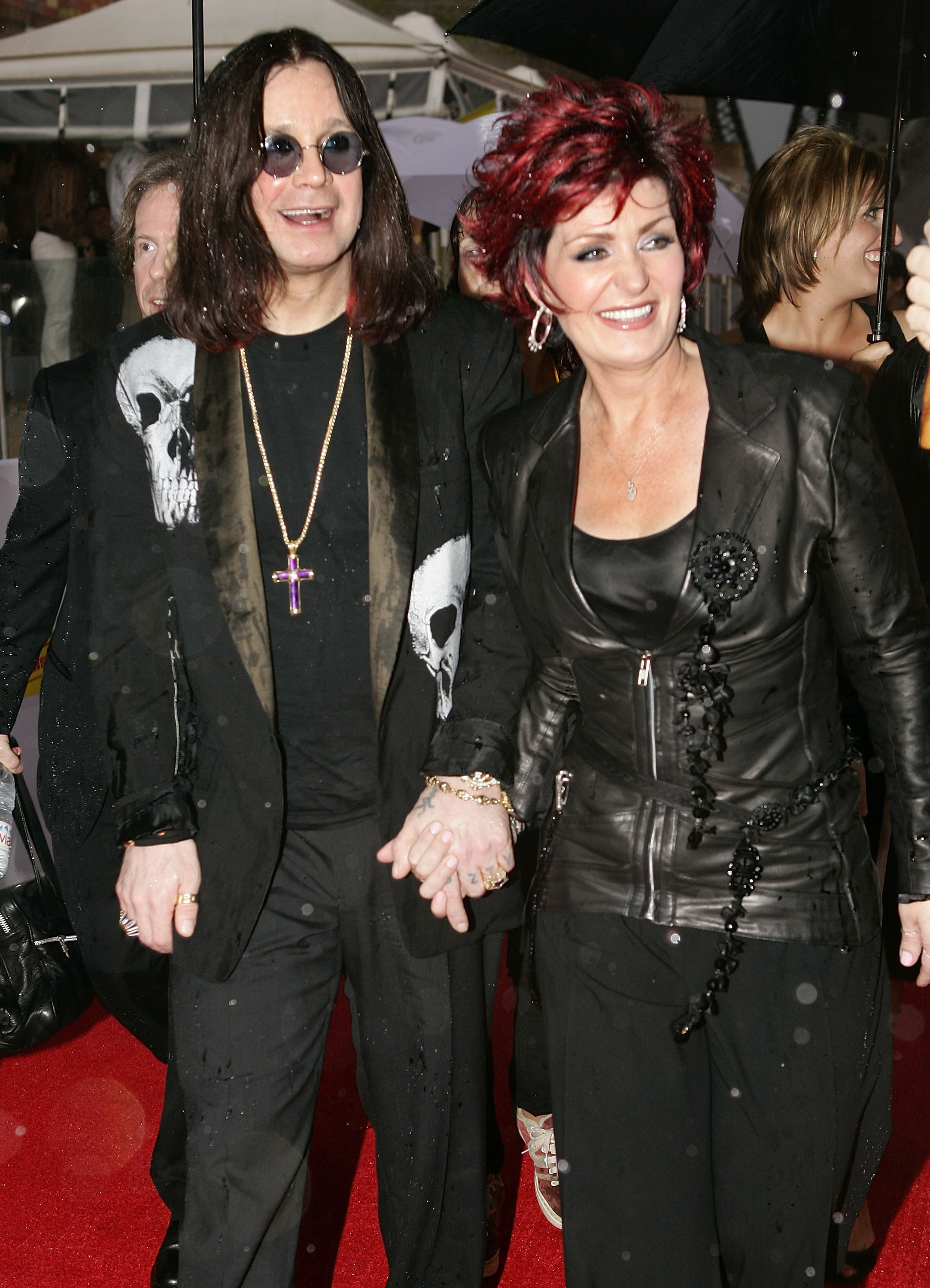 Ozzy Osbourne and Sharon Osbourne (Source: Getty Images)