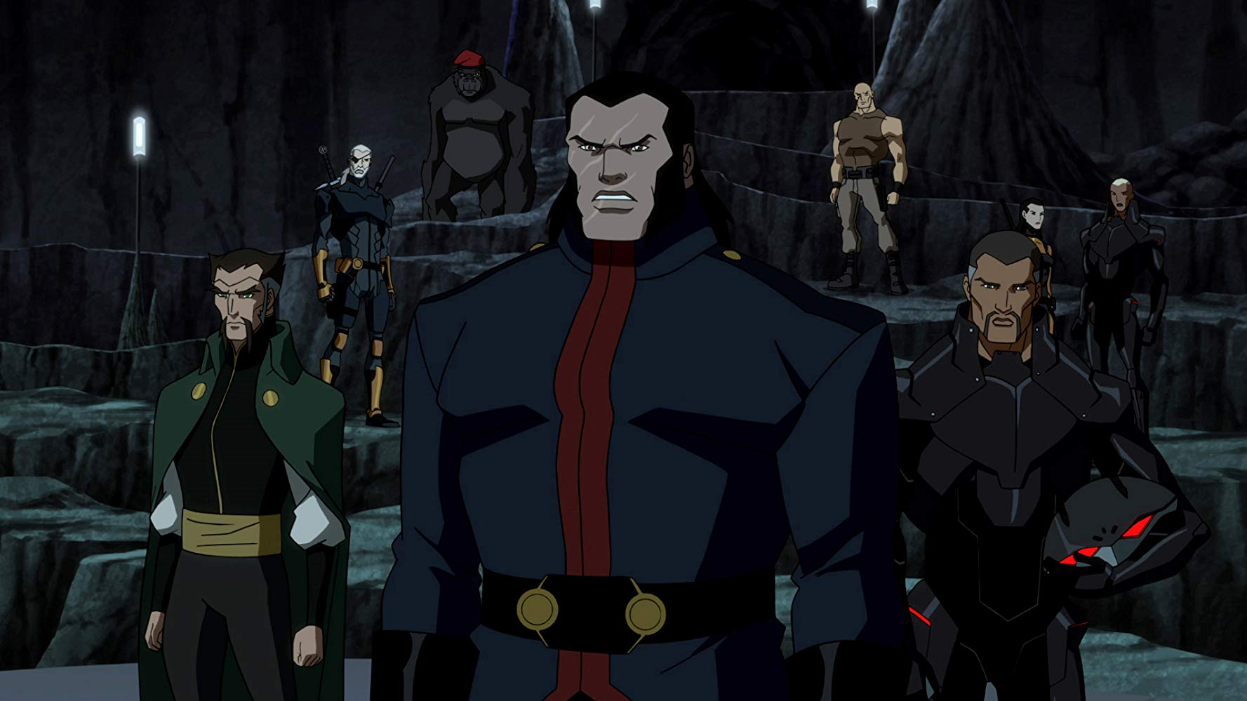 Vandal Savage and The Light in 'Young Justice'. (Source: IMDB)