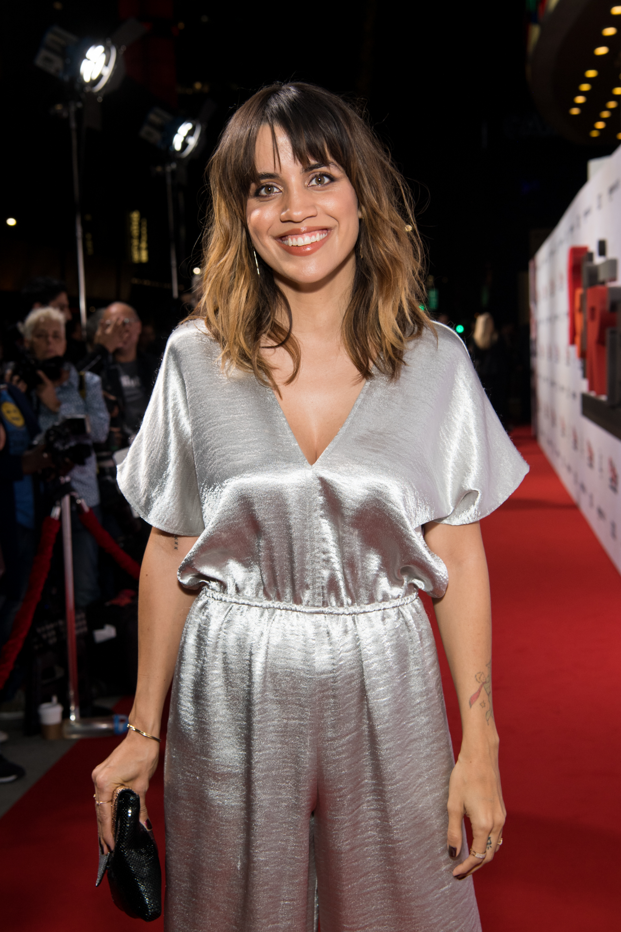 Natalie Morales attends the premiere of Amazon Studios' 'Suspiria' at ArcLight Cinerama Dome on October 24, 2018 in Hollywood, California. (Getty Images)