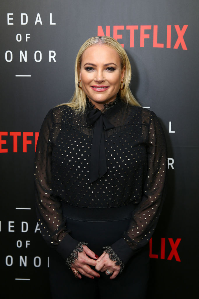 Meghan McCain, Co-Host of 'The View', at the Netflix 'Medal of Honor' screening and panel discussion at the US Navy Memorial Burke Theater on November 13, 2018, in Washington, DC. (Getty Images)