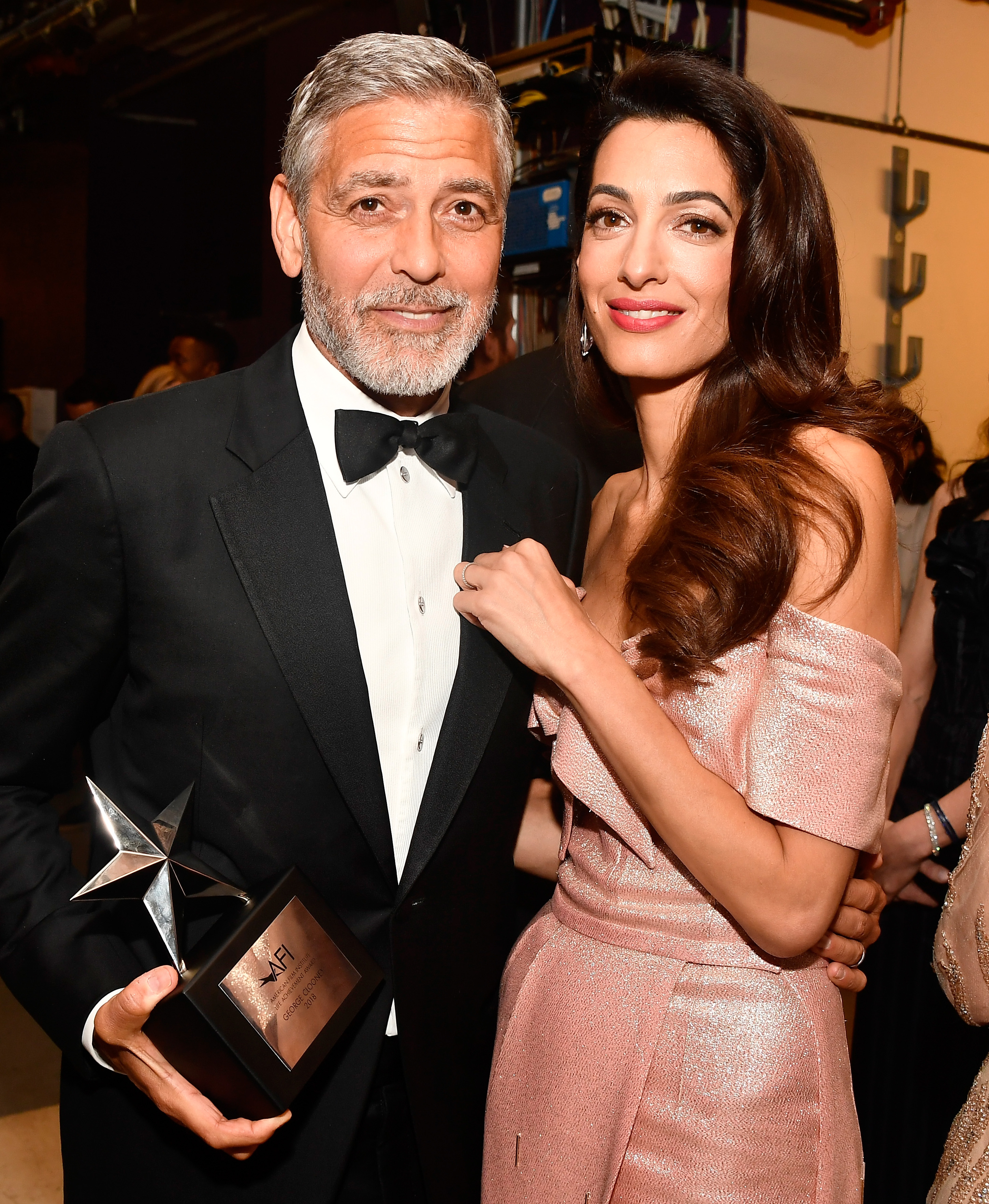 George Clooney and Amal Clooney (Source: Getty Images)