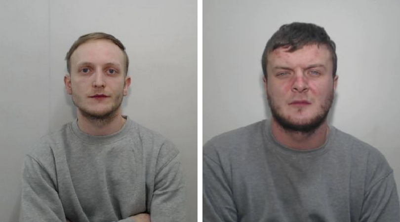 Zak Bolland (L) and David Worrall (R) (Source: Greater Manchester Police)
