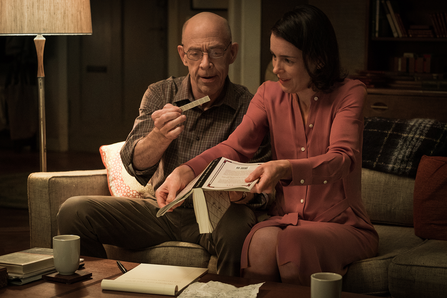 Emily and Howard find their Rilke-Salome moment as they put the last pieces of a puzzle together. (STARZ)