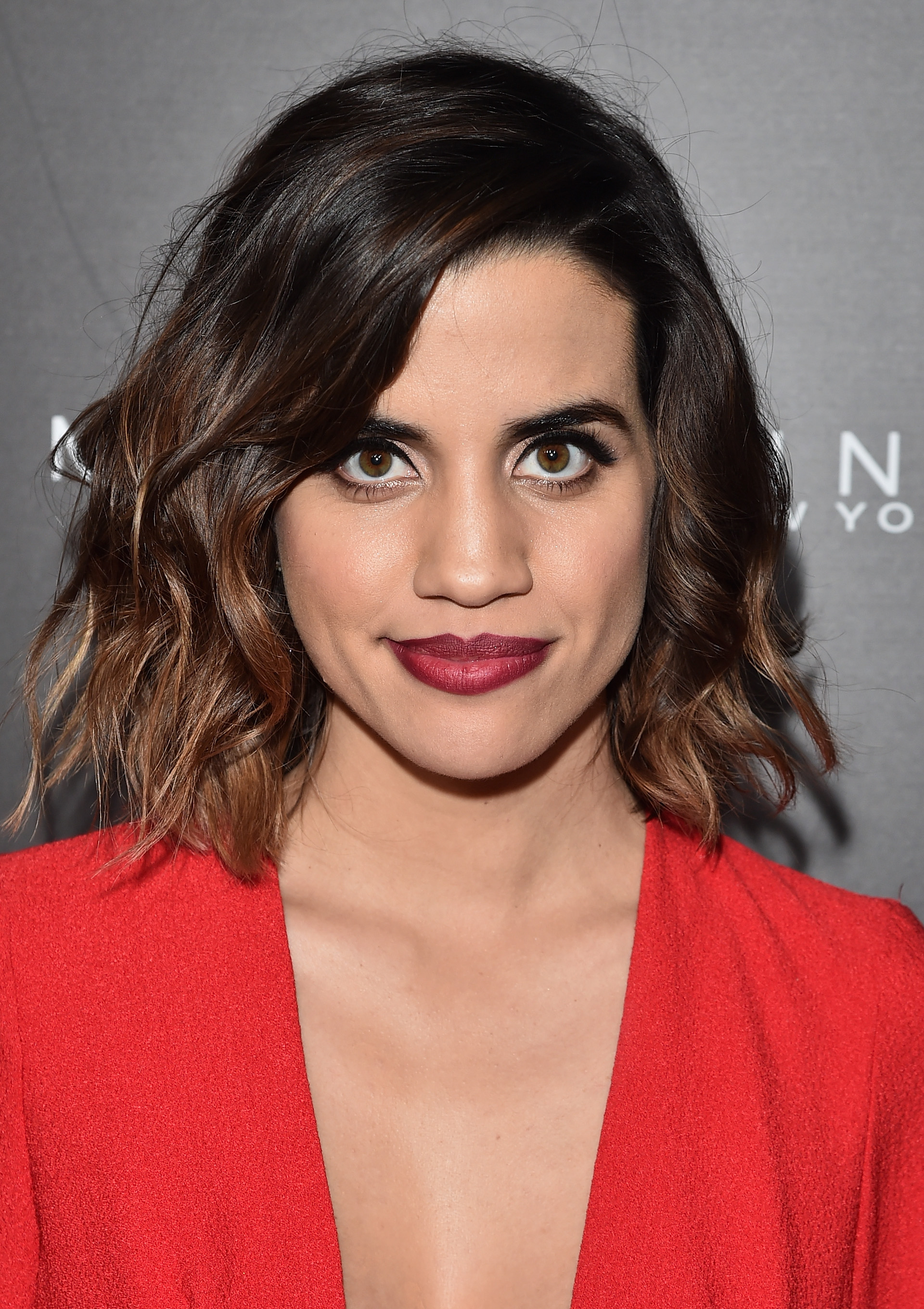 Actress Natalie Morales attends Entertainment Weekly's celebration honoring THe Screen Actors Guild presented by Maybeline at Chateau Marmont on January 29, 2016 in Los Angeles, California. (Getty Images)