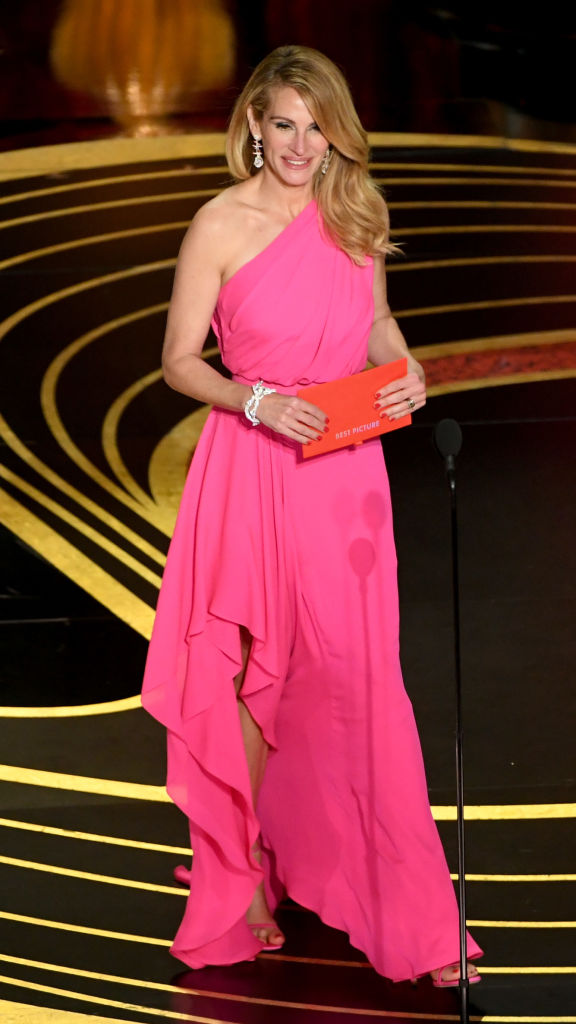 Julia Roberts speaks onstage during the 91st Annual Academy Awards at Dolby Theatre on February 24, 2019, in Hollywood, California. (Photo by Kevin Winter/Getty Images)