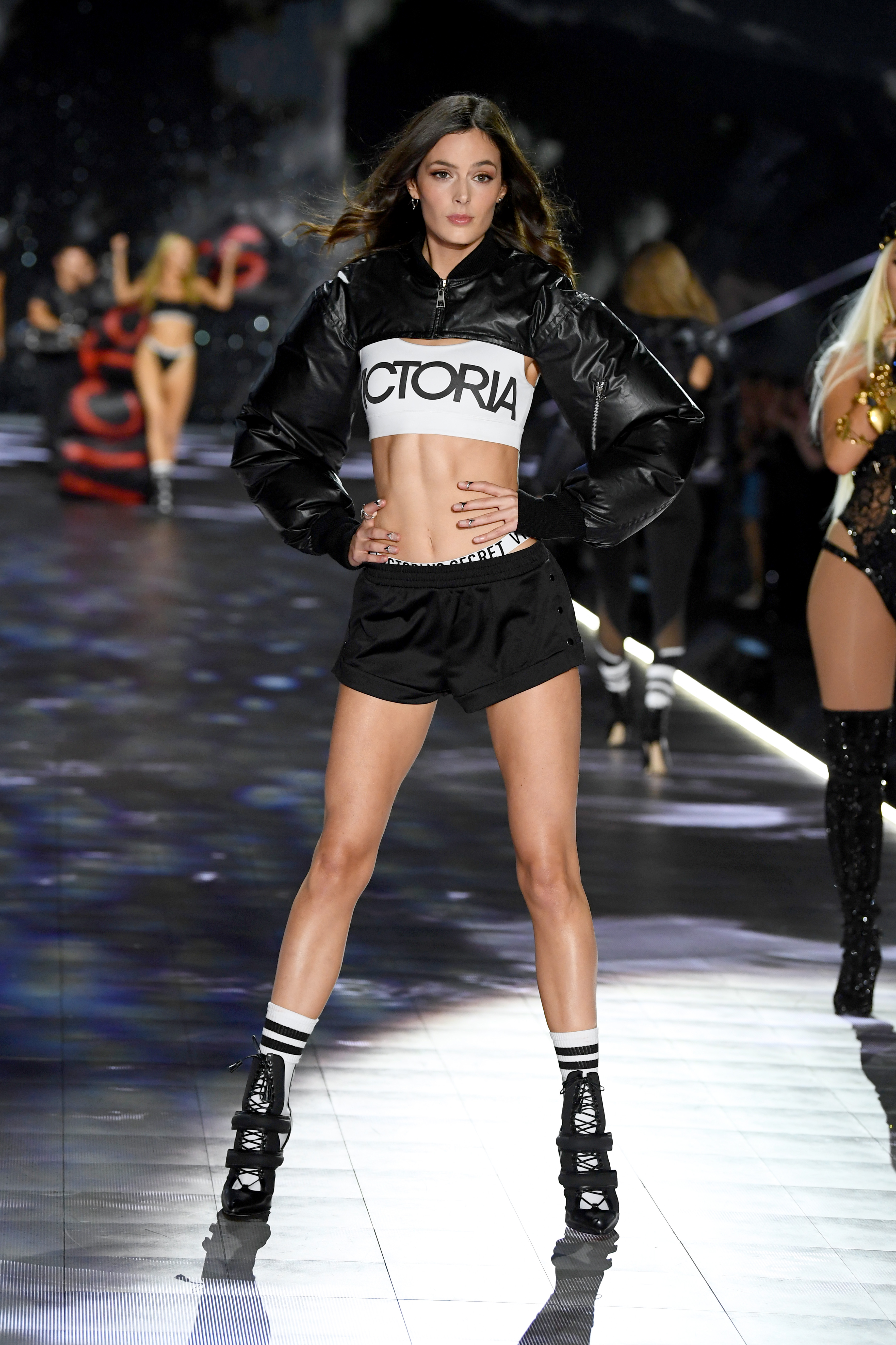 Sadie Newman walks the runway during the 2018 Victoria's Secret Fashion Show at Pier 94 on November 8, 2018, in New York City. (Getty Images)