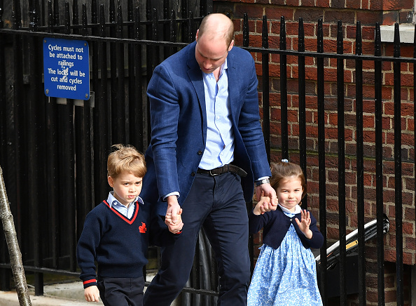 Kate and William are already parents to two children: George and Charlotte. (Getty Images)